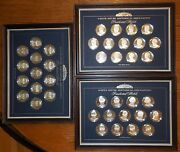 Franklin Mint 39 Presidential Sterling Silver White House Historical Proof Set