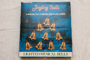 Mr Christmas 10 Lighted Musical Brass Jingling Bells Plays 15 Songs Vintage 1990
