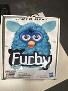 2012 Hasbro Furby Blue Teal Used With Original Box Tested And Working