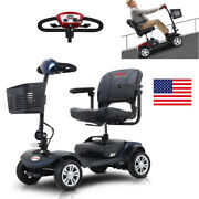 Electronic 4 Wheel Mobility Scooter Drive Power Wheel Chair Outdoor Foldable Us
