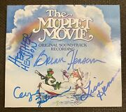 Henson Family Signed Autographed Cd The Muppet Movie Jim Henson The Muppets