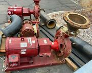 Armstrong Pump And Motor, Base Mounted 50 Hp 1800 Rpm 1708 Gpm @ 90ft 208/230/460v