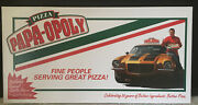 Pizza Papa Opoly Papa Johnand039s Monopoly Board Game Not Shrink Wrappedsealed
