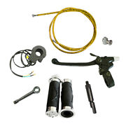 Yellow Clutch Line And Clutch Lever For 49/60/66/80cc Motorized Bicycle Engine