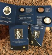 3 Sets 2016 Ronald Reagan Coins And Chronicle Set First Strike Eligible