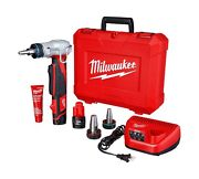 Milwaukee 243222 Propex Expansion Tool Kit Built In Auto Rotate M12 12v Compact