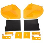 For Snowplow Pro Wings Wing Snow Plow Blade Wing Extensions Extenders Add 20