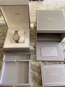 Dior Viii Montaigne Automatic Diamond Rose Gold Mother Of Pearl Cd1535i0m001