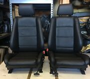 Bmw E30 325i/ 318i Convertible New Leather Front Sport Seats 1987-1992 1950