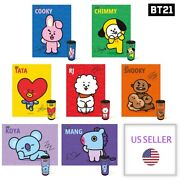 [us Seller] Bts Bt21 Official Cylindrical Case 150pcs Jigsaw Puzzle Fast Ship