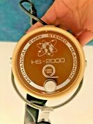 Rare Only 1 On Ebay Vintage Hs-2000 Mechanical 2way Stereo Headphone Cord Reel