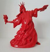 Whatshisname Riot Of Liberty Ltd Ed 25 Sculpture + Dfaceinvader Sticker