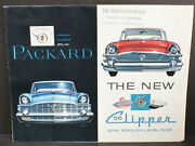The New 1956 Packard Clipper With Torsion-level Ride Foldout Sales Brochure