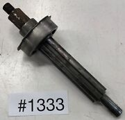 1929 1930 Chevrolet Car 3 Speed Transmission Splined Out Put Shaft And Bearing