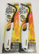 Scripto Flexible Aim Flame Multi-purpose Lighter White Candle Bbq Camping 2 Pack