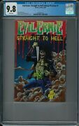 Evil Ernie Straight To Hell Ashcan Preview 1 Cgc 9.8 9/95 Chaos White Pages