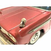 Toyopet Tin Toyota Crown Deluxe Car Sigh Of Quality Red 27x10x8cm Japan 4723