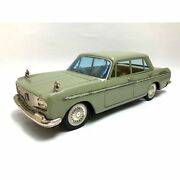 Toyopet Tin Toyota Crown Deluxe Car Sigh Of Quality Green 27x10x8cm Japan 4722