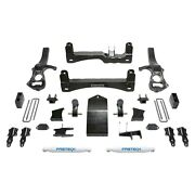 For Chevy Silverado 1500 19 Fabtech 4 Basic Front And Rear Suspension Lift Kit