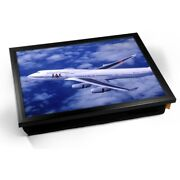 Kiko Gifts For Aviators Boeing 747-400 Japan Airlines Cushion Lap Tray