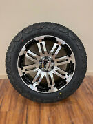 20x9 Vision Warrior Wheels Rims 32 Amp At Pro Tires 6x135 Ford Expedition F150