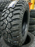 4 New 33x12.50r24 Fury Off Road Country Hunter M/t2 Mud Tires 33 12.50 24 R24 F