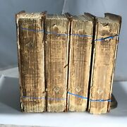 1809 Original State A System Of Chemistry - Second Edition - Four Volume Set