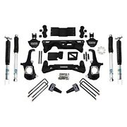 For Chevy Silverado 3500 Hd 11-19 5-6 X 4 Front And Rear Complete Big Lift Kit