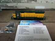 Atlas Master Series Emd Gp40 W/dcc And Sound Excellent Condition W/box