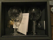 Waterford Crystal Millennium Collection Toasting Goblets Prosperity - Nib