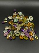 Old Crystals Amethyst Aquamarine Citrine Gems Quality Beads From Ancient Roman