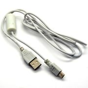 Usb Charger Sync Data Cable Cord Lead Wire For Canon Powershot Series Brand New