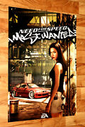 2005 Need For Speed Most Wanted Very Rare Xbox 360 Ps3 Wii U Poster 80x58 Cm
