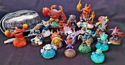 Lot Of 19 Mixed Activision Skylander Figures And Portal Of Power