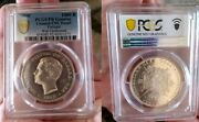 Pcgs Proof 1910 Portugal 1000 Reis Large Silver Crown-extremely Rare In Proof