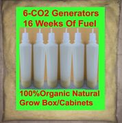 Grow Box Organic Co2 Generator Large Foliage For Tents Cabinets Indoor Gardens