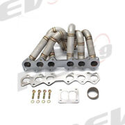 Rev9 Hp Series Equal Length Turbo Manifold T4 Divided For Toyota Supra 2jzgte