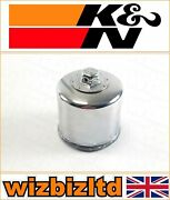 Yamaha Rx10ms Apex Mountain Se 2007 [kandn Chrome Replacement Oil Filter] Kn-204c