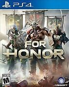 For Honor Sony Playstation 4 2017
