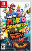Super Mario 3d World + Bowser's Fury - Nintendo Switch On Hand Ready To Ship
