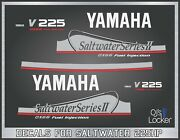 Yamaha Saltwater 225hp Ox66 Outboard Engine Replacement Die-cut Stickers