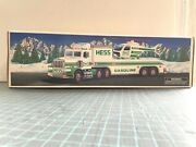 1995 Hess Toy Truck And Helicopter New In Box Lights And Sounds Never Displayed