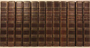 Leather Setworks Of Bronte Complete Thornton Edition Rare Gift Jane Eyre 1907