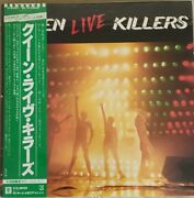 Queen Live Killers First Limited Color Disc / Used With Obi Lp / Dead Stock
