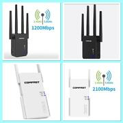 Wifi Repeater Extender Wireless Dual Band Range Booster Router Signal 1200,2100