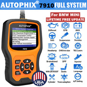 Autophix 7910 For Bmw Obd2 Scanner All System Scan Oil Abs Epb Sas Srs Tpms Bms