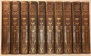 Leather Setworks Of Edgar Allan Poe Complete 1/150 Antiquarian Rare 1902 Gift