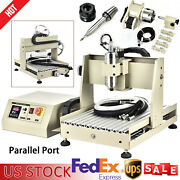 800w Vfd Cnc Diy Router Kit Wood Engraving Carving Machine Pcb 4 Axis Engraver