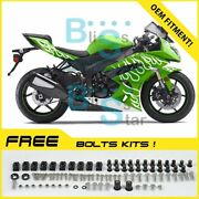 Fairings Bodywork Bolts Screws Set For Kawasaki Ninja Zx6r 2009-2012 19 J3