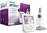 Philips Avent Scd843/26 - Baby Monitor With Video Colour Screen Of 35 Inch